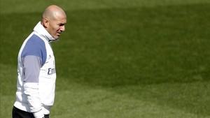 Zidane, centrado en el próximo partido del Real Madrid