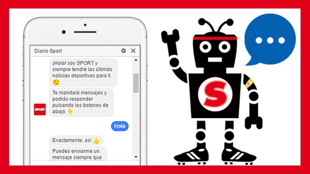 SPORT estrena nuevo Chatbot en Facebook (ES)