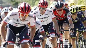 Contador no pudo coronar su intento