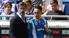 Quique Sánchez confía en puntuar en el Bernabéu
