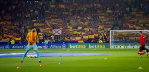 Las imágenes del Atlético de Madrid, 1 - FC Barcelona, 1