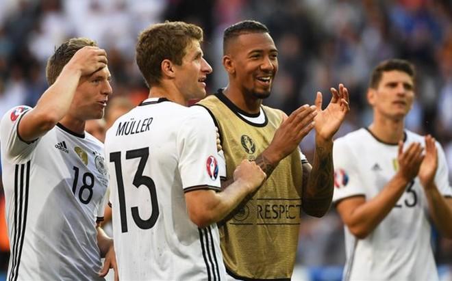 Alemania celebr� su pase a cuartos de final tras golear a Eslovaquia en Lille