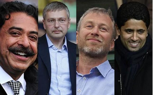 Resultado de imagen de Nasser Al-Khelaifi y abramovich