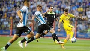 Boca Juniors, 1 - Racing Club, 2