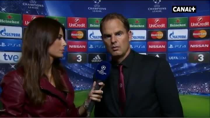 De Boer cree que Luis Su�rez encajar� bien en la delantera del Bar�a