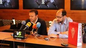 El entrenador del Murcia repartirá minutos
