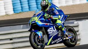 Iannone , el más rápido del día en Jerez