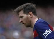 Leo Messi combina una barba pelirroja con un pelo casta�o