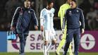 Messi se retira del Argentina-Honduras por una contusi�n