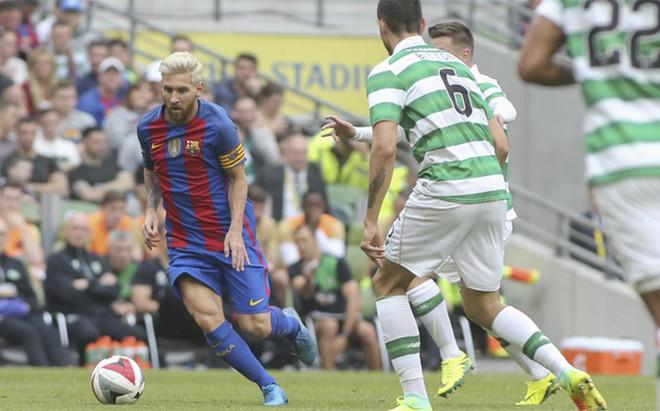 Messi fue el primer en lucir el brazalete de capit�n