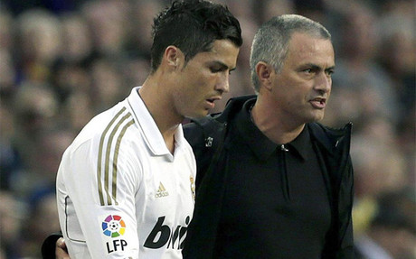 Mourinho critic� a Cristiano Ronaldo