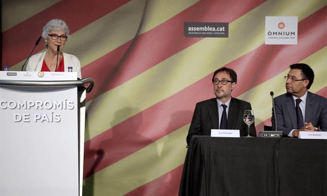 El FC Barcelona se suma a las condolencias por la muerte de Muriel Casals