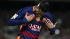 """Neymar, de Su�rez: """"El gordo se me adelant� en el penalti"""""""