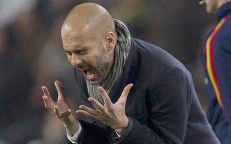 غوارديولا تفاعل المباراة فالنسيا