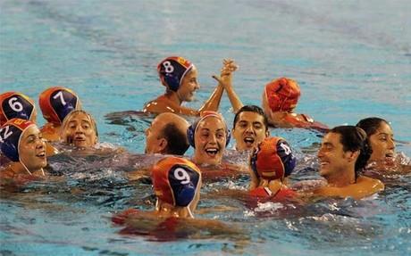 La selección femenina de waterpolo se proclamó campeona del mundo