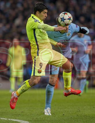 صور : مباراة مانشستر سيتي - برشلونة 1-2 ( 24-02-2015 )  1424816286241
