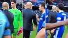 Cesc se quedó sorprendido por la reacción de Guardiola