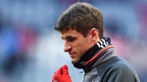 Müller no brilla esta temporada a las órdenes de Ancelotti