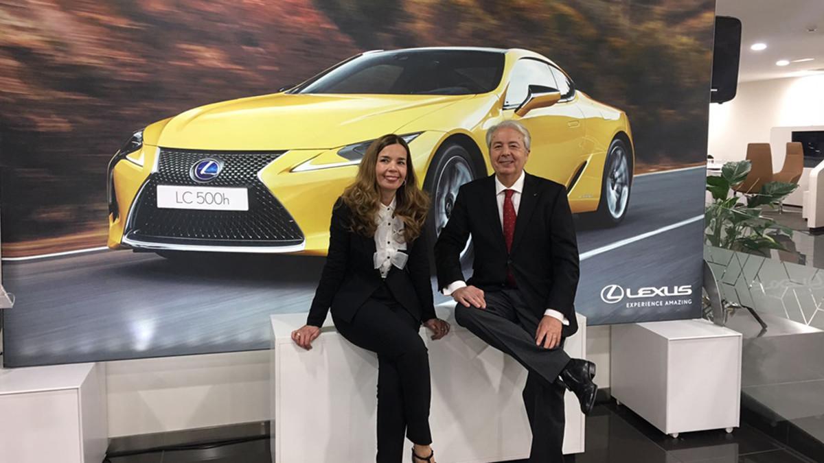 Presentación del Lexus LC500 en Barcelona
