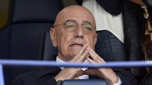 Adriano Galliani, vicepresidente del Milan