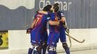 El Barça Lassa tardó en imponer su ley en la pista del CH Lloret