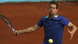 García López, eliminado en la segunda jornada