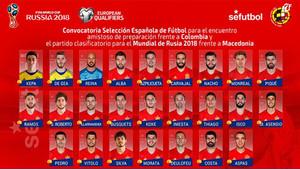 Sergi Roberto es uno de los jugadores que se medira a Colombia y Macedonia