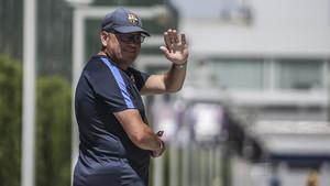 Xavi Llorens se despide del banqullo del Barça a final de temporada tras 11 años al mando