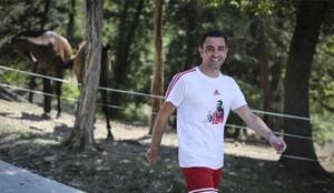 Xavi Hernández habló del Barcelona
