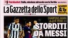 En Italia se rinden a la exhibición de Messi
