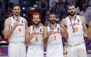 España acabó el Eurobasket con la medalla de bronce