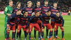 Alineaci�n del FC Barcelona