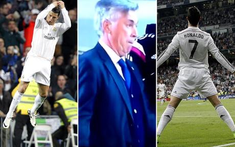 Ancelotti, como Cristiano