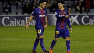 David Costas y Aleñá, dos piezas clave en el engranaje de un filial que necesita sumar de tres en tres