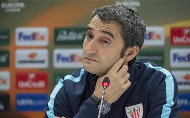 Valverde se muestra sorprendido porque le vinculen con el Real Madrid