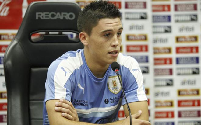 Federico Ricca, en rueda de prensa
