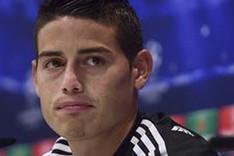James espera ofrecer su mejor cara en el Real Madrid