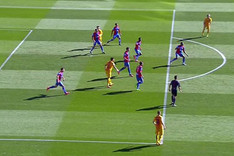 Leo Messi estaba en una posici�n legal