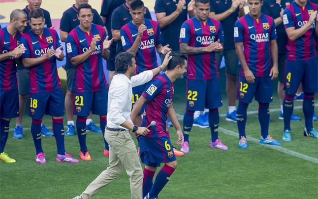 El fc barcelona invitar a los entrenadores de xavi a su - Pis proteccio oficial barcelona ...