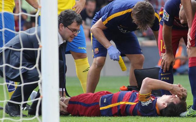 Leo Messi no jugar� el cl�sico contra el Real Madrid