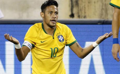 Neymar, el �nico del Bar�a en la convocatoria de Brasil