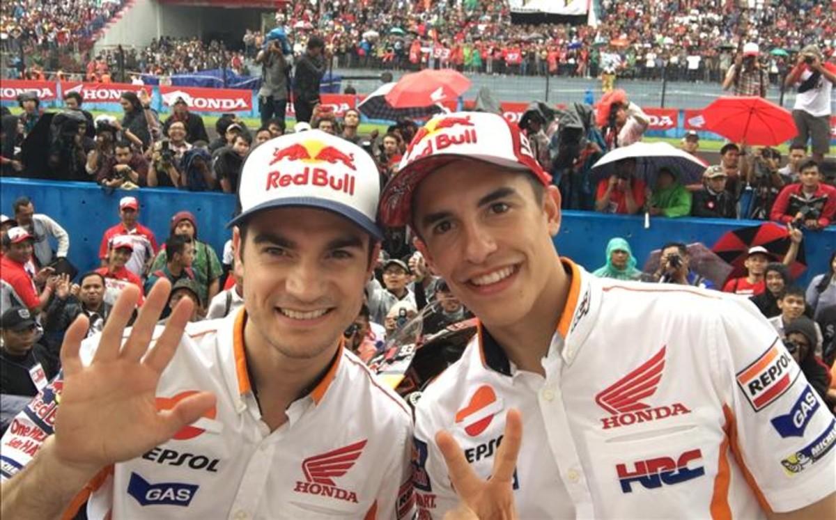 Márquez y Pedrosa encabezarán en Jerez el convoy de bienvenida al GP España