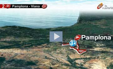 El recorrido de La Vuelta 2012