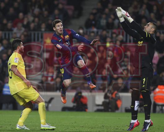 صور : مباراة برشلونة - فياريال 3-1 ( 11-02-2015 ) 1423690314151