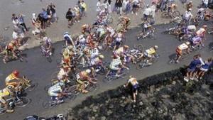 Passage du Gois en el Tour2011
