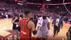Harden y los Rockets pudieron con Westbrook