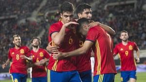 España se impuso en Roma