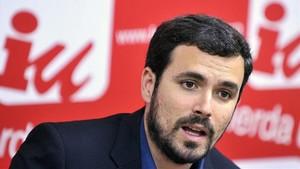 Alberto Garzón, diputado de IU