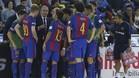 Andreu Plaza dando instrucciones a sus jugadores