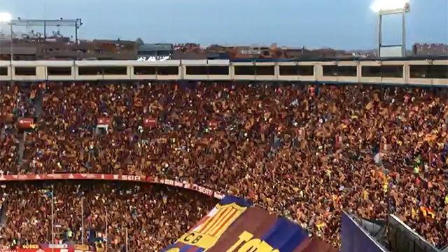 La pitada al himno en la Final de Copa